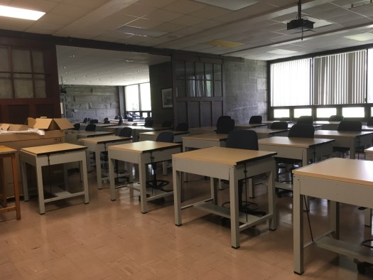 SUNY Maritime Classroom