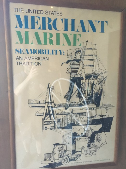 Merchant Marine Poster, Maritime Industry Museum