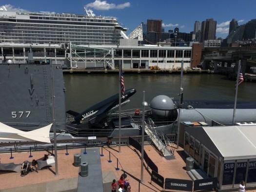 Growler Nuclear Submarine, Intrepid, New York
