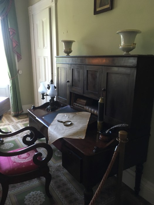 Aaron Burr's Desk Bartow-Pell Mansion, Bronx