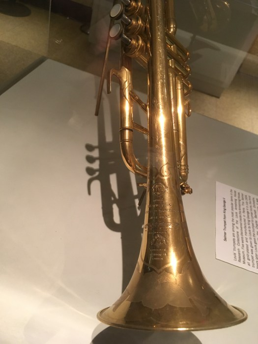 Trumpet, Louis Armstrong House