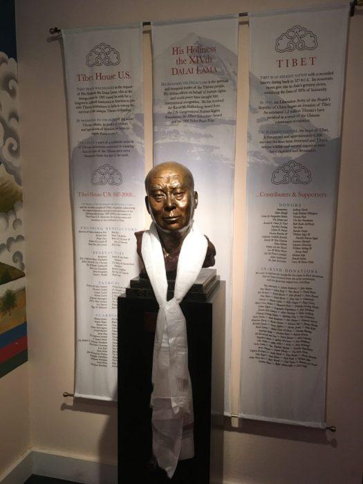 H.H. the Dalai Lama, Tibet House