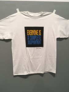 John Giorno T-Shirt, White Columns Gallery