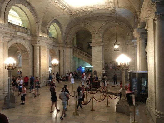 New York Public Library, Interior