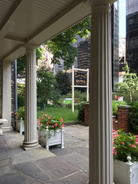 Mount Vernon Hotel Porch