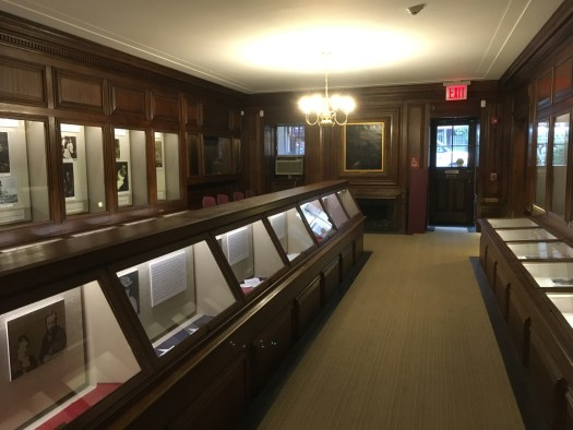 Theodore Roosevelt Birthplace, Manhattan, Exhibit Room