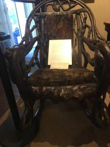 Rocking Chair, Garibaldi-Meucci Museum, Staten Island