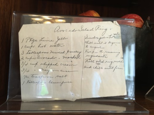 Recipe from the Kitchen of the Voelker Orth Museum