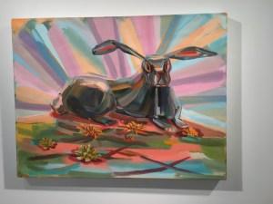 Judith Linhares at BMCC's Shirley Fiterman Art Center