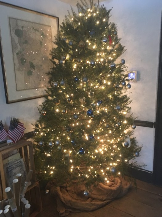 Wyckoff House Christmas Tree