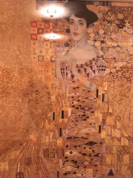 Adele Bloch-Bauer at Neue Galerie, New York