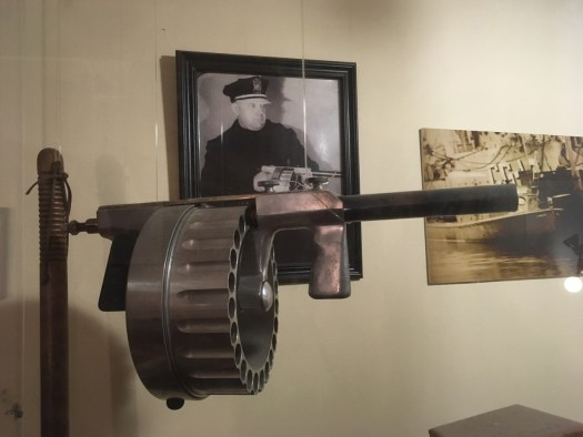 Museum of the American Gangster-Tommy Gun