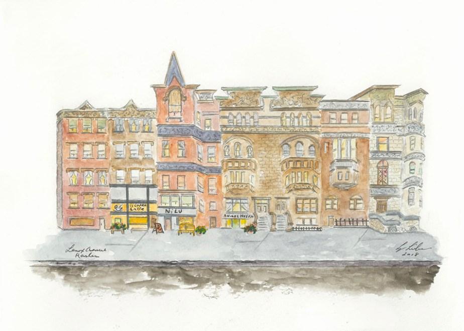 Lenox Avenue in Harlem