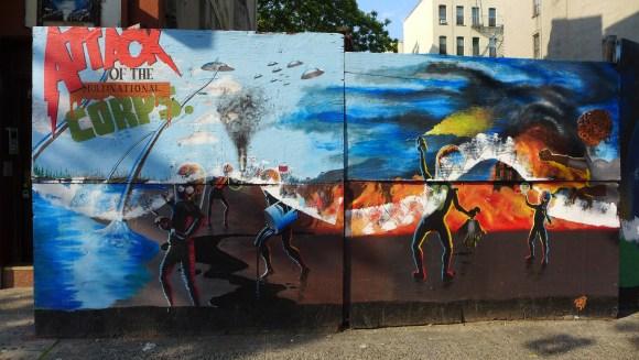 Guerrilla Wall El Barrio