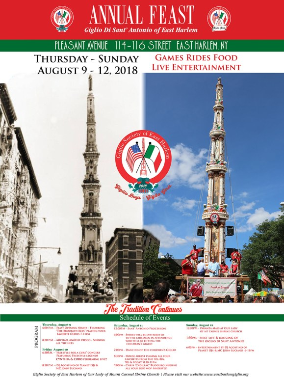 Feast of Giglio East Harlem