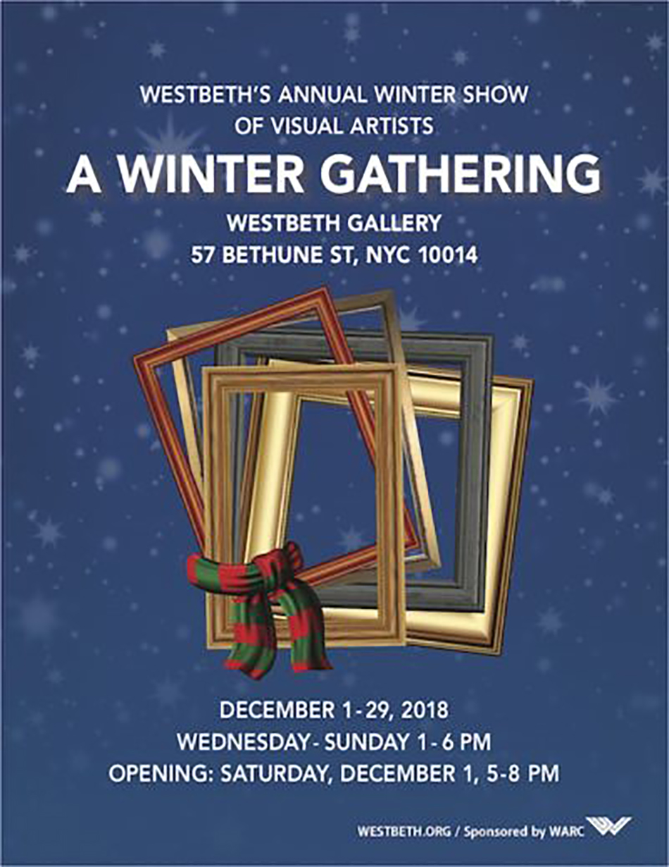 da4f56bce86e A Winter Gathering  Westbeth Visual Artists ~ December 1
