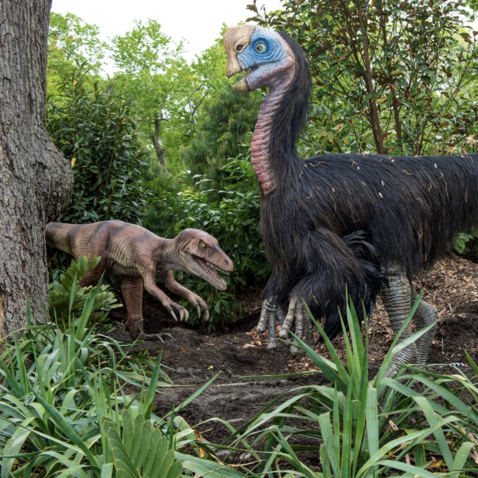 Dinosaurs Arriving At The Bronx Zoo Gothamtogo