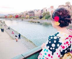 京都 着物で観光