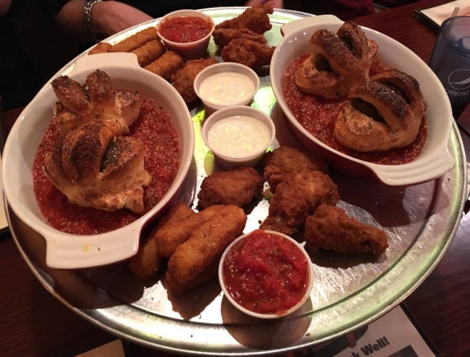 Big platter to share? Heck, yes!