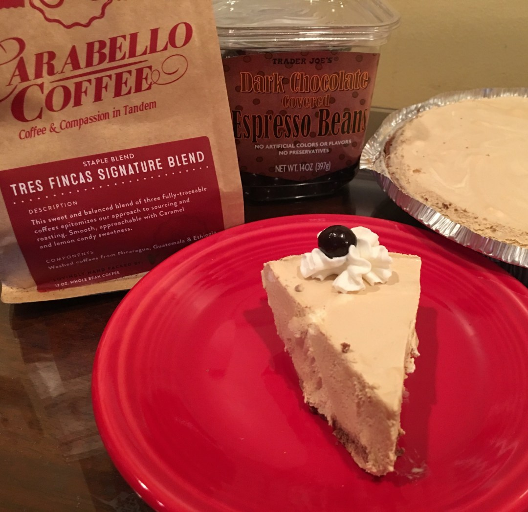 Coffee Pie with Carabello Coffee