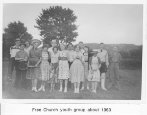 Free Church Youth Group c. 1960