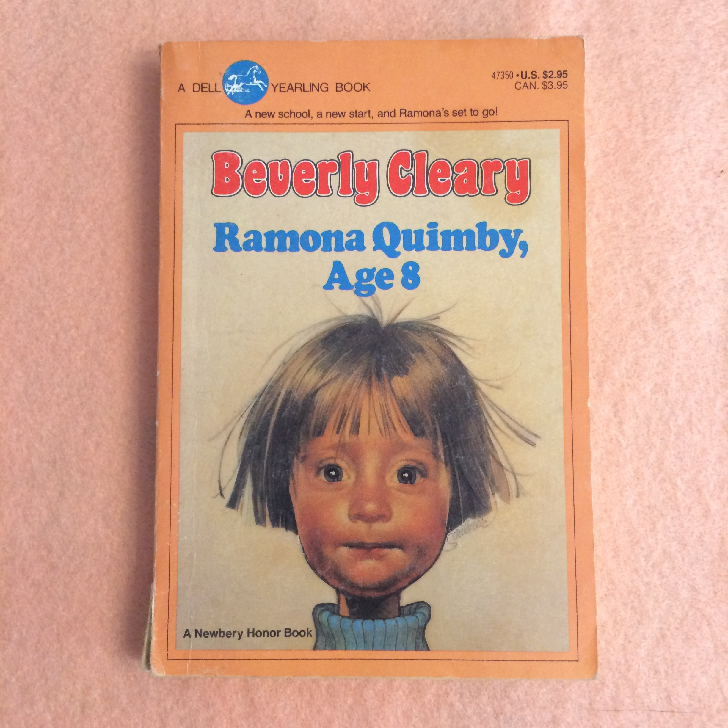 Beverly Cleary Ramona Quimby Age 8
