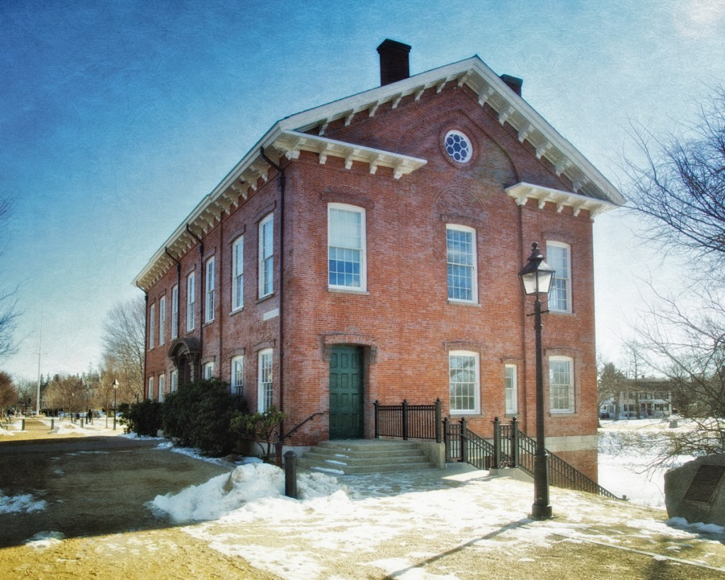 Old Gaol, c. 1823, Bartlet Mall, Newbury, Essex County, Massachusetts