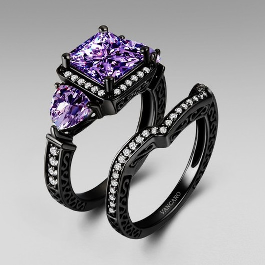 Gothic Wedding Rings  Gothic Wedding Rings