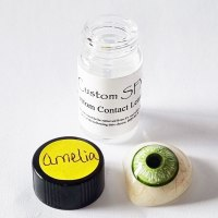 Amelia Hand Painted Contact Lenses