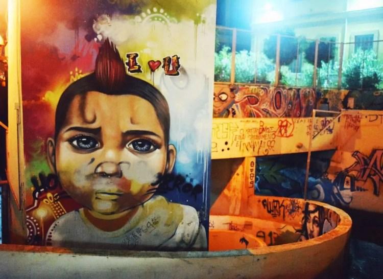 Parking Garage Street Art in Nicosia