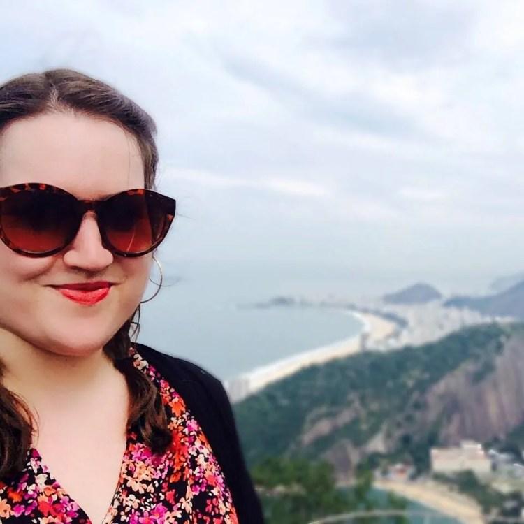 Stephanie Craig in Rio de Janeiro in July, 2015