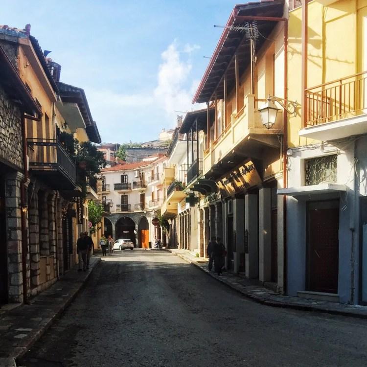 A little village on Mt. Parnassus