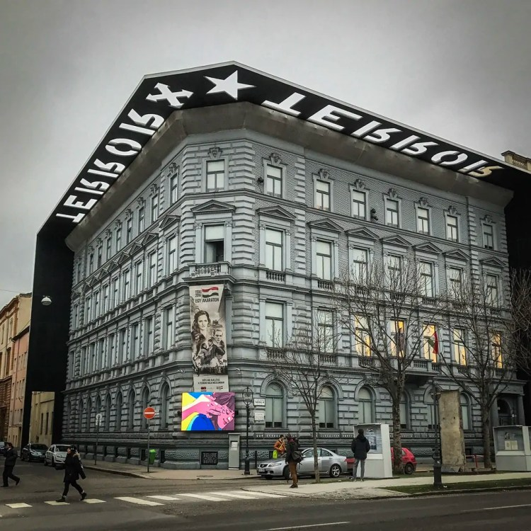 The House of Terror on Andrassy Avenue