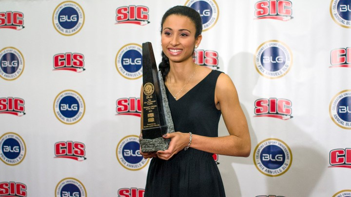 Marcelle named the CIS Female Athlete of the Year