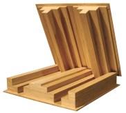 Mẫu gỗ tán âm một chiều