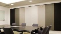 Tường phòng họp tiêu âm phòng họp với tấm Polyester fiber