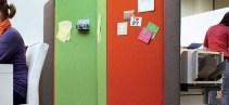 Tường tiêu âm Polyester Fiber sợi bông ép