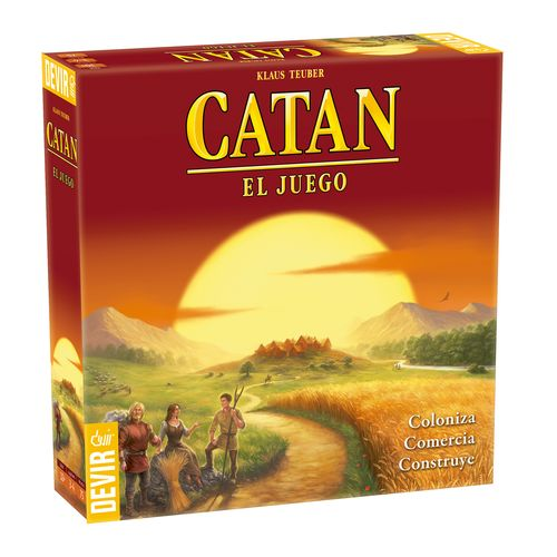 CATAN EL JUEGO / Catan Base (MODELO 22010)