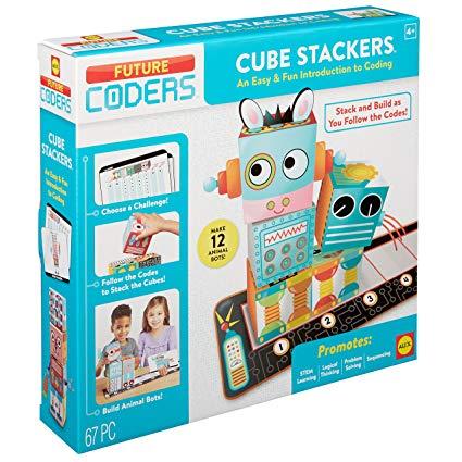 Juego De Lógica: Cube Stackers Future Coders