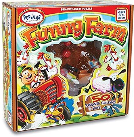 Funny Farm Juego De Agilidad Mental