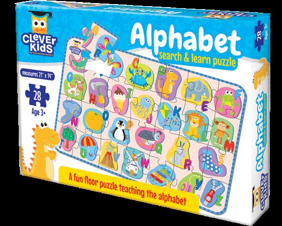 JUEGO EDUCATIVO EN INGLES, MARCA LEARNING / CLEVER KIDS: ALPHABET 77741