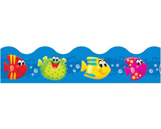 T92380 Tira decorativa Mis cuates del mar