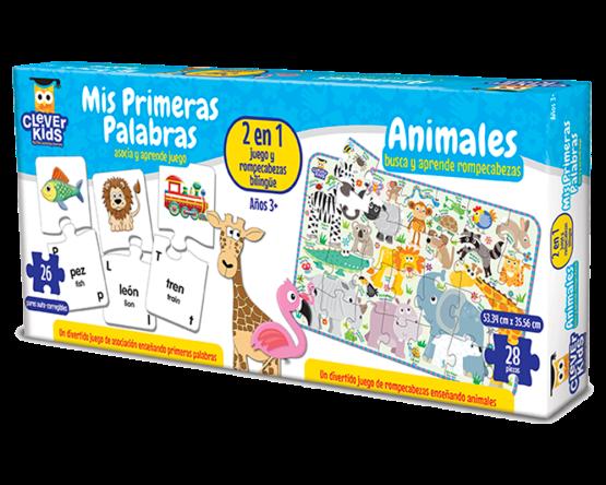 JUEGO EDUCATIVO MARCA LEARNING: MIS PRIMERAS PALABRAS Y ANIMALES