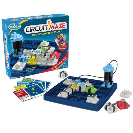 ThinkFun Juego lógico y Juguete Stem , Circuit Maze
