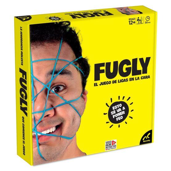 JCA-2481 FUGLY EL JUEGO DE LIGAS EN LA CARA