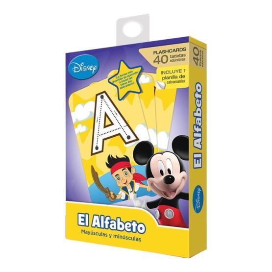 FLASH CARDS ALFABETO DISNEY JR