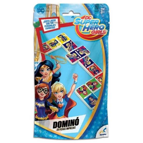 D-1614 DOMINO BOLSA FOIL SUPER HERO GIRLS