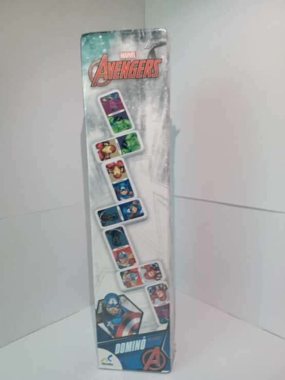 D-1971 Domino Mediano Avengers En Caja