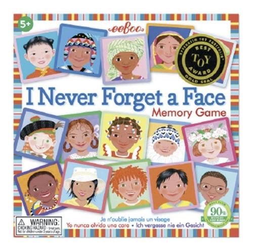 Memoria Eeboo: Nunca Olvido Una Cara