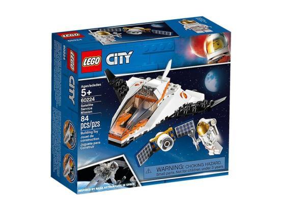 LEGO City Misión: Reparar el Satélite 60224